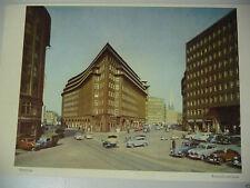 Farbige/kolorierte Fotografien (1940-1970) mit Architektur- & Stadt-Motiv