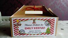 Personalised Christmas Gift Box Eve Boy Girl 22.8cmx12.2cmx9.7cm Ready to Fill
