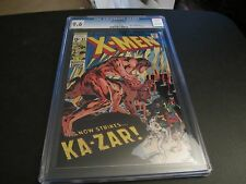 RARE X-MEN #62  2ND PRINT VARIANT CGC 9.6 EXTREMELY HARD TO FIND!!!