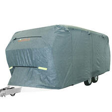 Kingbird 24'-27' Extra-thick 4-Ply Camper Travel Trailer RV Cover & 4 Tire Cover