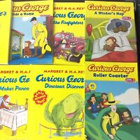 Lot of 8 Curious George Books Children Kids Picture H.A. Rey Random Assorted