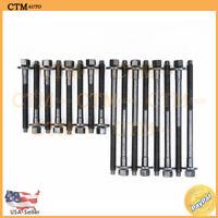 Cylinder Head Bolts For 92-11 Chevrolet GMC 4.3L V6 VIN Code XW Vortec Set Fix