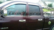 2005-2010 Dodge Dakota/2004-2009 Durango 4 Door Chrome Handle Covers no PSKH