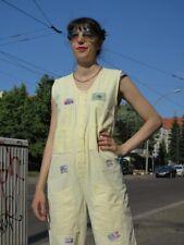 Damen Overall 100% Baumwolle international Fashion Report 90er True VINTAGE 90s