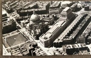 Vintage Old Postcard Aerial View-The First Church Of Christ- Boston MA