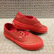 Scarpe rossi VANS per bambini dai 2 ai 16 anni
