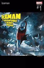 ICEMAN #1 SKAN HIP HOP VARIANT MARVEL 1st Print 07/06/17 NM
