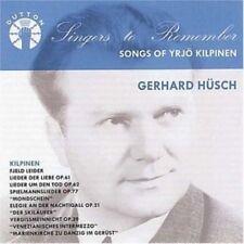 GERHARD HUSCH Hüsch Songs of Yrjö Kilpinen 25-track CD album NEW  YRJO
