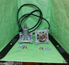 """AYP 42"""" Deck Rebuild Kit  Spindles 187292 Blades 138971 Belt 197253"""