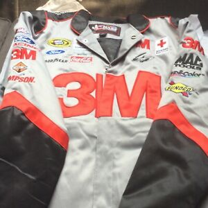 Nascar Chase Authentics Jackets RN 93965 color grey red and black size large new
