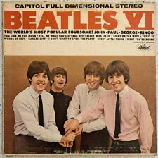 The Beatles VI - Vinyl LP Capitol Records - ST 2358 Full Dimensional Stereo