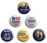 Joe Biden / Kamala Harris Campaign Button set of 6 (BH-001-ALL)