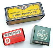 Radio Electronic Components Bundle - Capacitors - Potentiometer