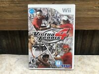 Virtua Tennis 4 (Nintendo Wii, 2011) COMPLETE - TESTED - FREE SHIPPING & RETURNS