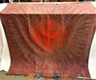 """ANTIQUE 19TH CENTURY HAND WOVEN KASHMIRE WOOL PAISLEY SHAWL,CLEAN! 66"""" X 60"""""""