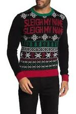 Ugly Christmas Sweater - Sleigh My Name Sweater black XL mc