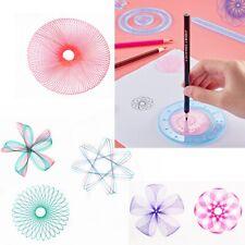 27pcs Original Spirograph Design Set Tin Draw Drawing Art Craft Create Toys Gift