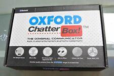 Oxford Chatterbox Bluetooth Intercom Set For Motorcycle Motorbike Helmet