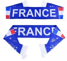 Echarpe Scarf Unisexe Football Mode Nation France FR World Cup Scarve Gift