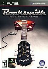 PS3 Rocksmith Authentic Guitar Games Sony PlayStation 3 Learn to Play Game