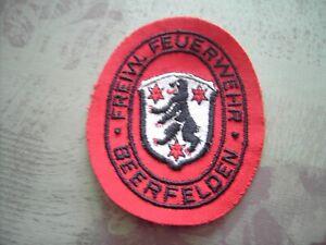 Feuerwehr Ärmelabzeichen Freiw. Feuerwehr Beerfelden