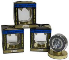 Hockey Puck Display Holders Gold Base Acrylic Memorabilia Holders 4 Count Lot