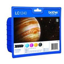 Brother Genuine LC1240 Value Pack Original Ink Cartridges LC1240VALBP MFCJ6950DW