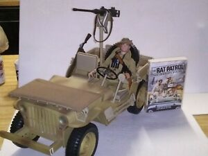 Rat Patrol Jeep figure complete series DVD with extras