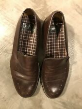 Charles Jourdan Brown Leather Mens Dress Loafers Shoes - 8-9 8 9