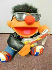 "1998 Tyco Rock And Roll Ernie Sesame Street 13"" Plush Doll Guitar w Tags"