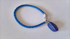 Armband halb Edelstein Sodalith blau