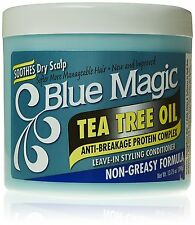Blue Magic Tea Tree Oil Anti-Breakage Protein Leave-in Styling Conditioner 13oz