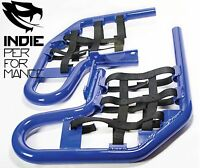 Yamaha Raptor 660 2001-05 Quad ATV Nerf Bars Nets & Fittings Blue Ano (BlkN) #07
