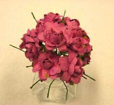 12 fleur en papier fuchsia. Décoration de mariage