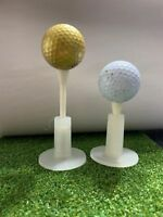 2″ Fiberbuilt Adjustable Golf Tee Assembled Free 1-5 Day US Shipping!