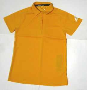 Adidas DX9856 Game Mode Men's All Day Polo Shirt NEW- Yellow Only The Best Sz S