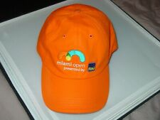 Tennis Miami Open 2015 Itau Tournament One Size Sport Orange Hat Baseball Cap
