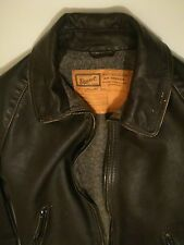 STEWART giubbino jacket pelle Point Old glory old calf wash size taglia M NUOVO