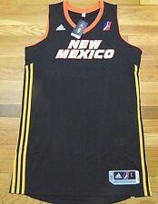 "ADIDAS NBA D-LEAGUE REVOLUTION 30 NEW MEXICO T-BIRDS AUTHENTIC BLANK JERSEY L+2"""