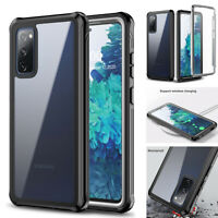 For Samsung Galaxy S20 FE 5G Case Heavy Duty Shockproof Cover w/Screen Protector