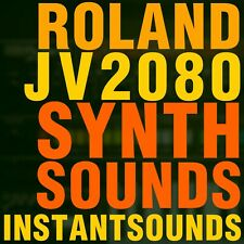 Roland Jv 2080 Synth Sample Reason Refill Exs24 Akai akp Soundfont Wav Sound NOW