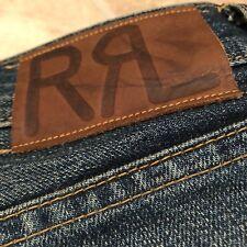 Doublerl RRL Ralph Lauren Low Straight Denim 32/32 Selvedge Jeans