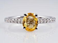 Ring 1,39 Karat Brillanten Saphir 750 Gold IGI Expertise neu