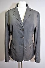 ESCADA APRIORI VTG 90S TAILORED JACKET BLAZER STRETCH SMART WORK BUSINESS UK 16