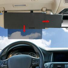 Car Visor Extender, TFY Car Visor Sunshade With one See Through Piece downward