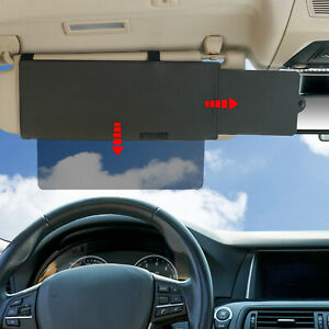 TFY Car Anti-dazzle Visor Extender Sunshade With one See Through Piece downward