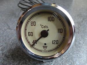 VDO Fernthermometer für Faun LKW 60 mm