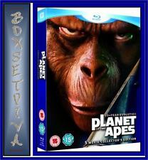 PLANET OF THE APES - 5 MOVIE COLLECTION *NEW BLU-RAY