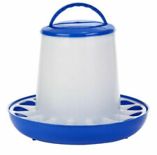 Double-Tuf DT9856 Plastic Large 15 Lb. Poultry Feeder