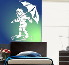 VINILO DECORATIVO PARED SALÓN  HABITACIÓN CASA DECORACION-POND GIRL-